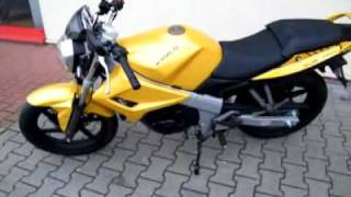 preview picture of video 'Kymco Quannon Naked 125 Motorrad'