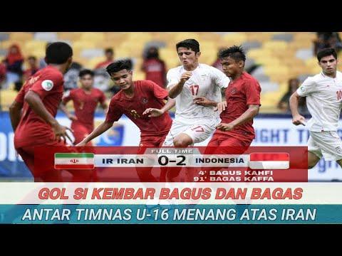 Gol Si Kembar Bagus dan Bagas Antar Timnas U-16 Menang atas Iran