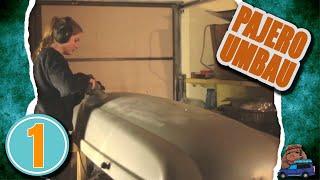 Dachbox für 2€! | Dachbox, unboxing, Ausrüstung | Pajero 4x4 Reisemobil umbau Vlog | S1 E1