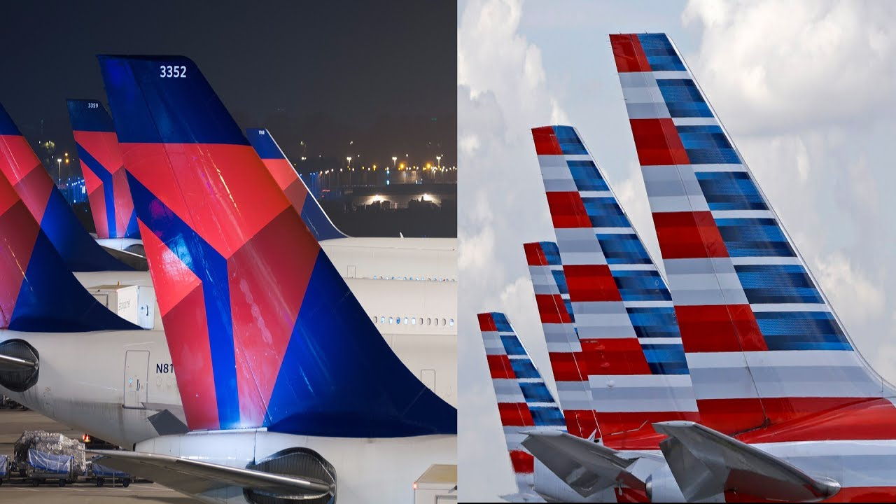 American Airlines vs Delta Airlines   Aviation.Report
