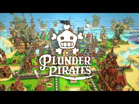 Plunder Pirates launch trailer! #PLUNDERED