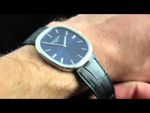 Patek Philippe Golden Ellipse 5738P Luxury Watch Review