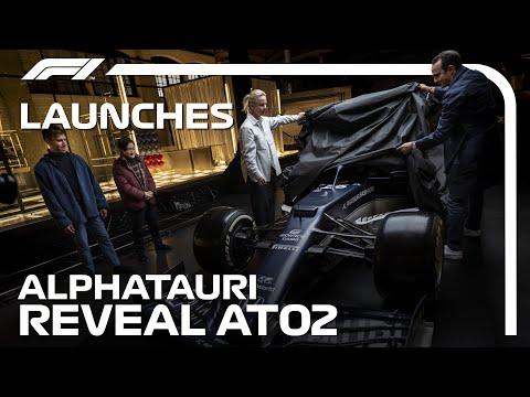 F1 2021 アルファタウリ「AT02」が公開。ドライブするのはもちろん今年F1デビューを果たす角田裕毅