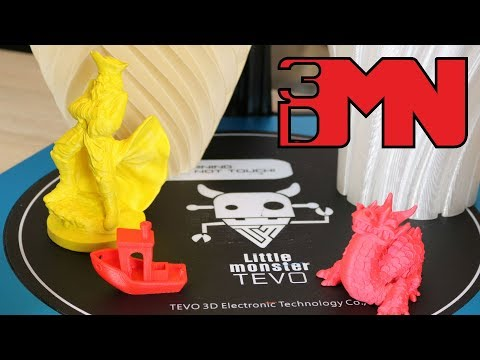 Tevo Little Monster Delta 3D Printer Review