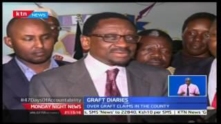 Monday Night News: Kilifi Governor Amason Kingi appears before EACC over corruption cases, 28/11/16