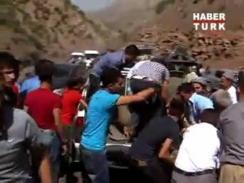 Şırnak 10 Asker Şehit   Köylüler Yardıma Koştu