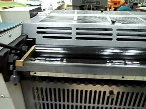 Hamada Superb 47 Mini Offset Printing Machine