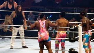 New Day vs Wyatt Family - Battleground Live FanCam 7/24/16