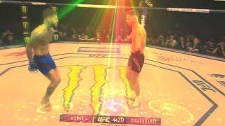 Cody Garbrandt DANCE UFC 207