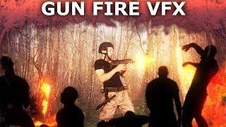 How to Make Machine Gun Fire (Muzzle Flash) Effects in HitFilm 2