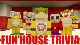 Fun House Trivia! [CAN YOU GET THEM RIGHT?] - Nintendo Fun House - (Minecraft Switch) [234]