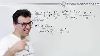 Úprava algebraických výrazů - příklad 2