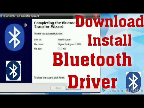 How to Download & Install All Intel Bluetooth Driver for Windows 10/8/7