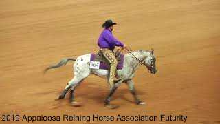 2019 Appaloosa Reining Horse Association Futurity