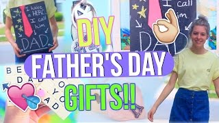 DIY Fathers Day Gifts! | Last Minute Gifts To Make For Your Dad!!
