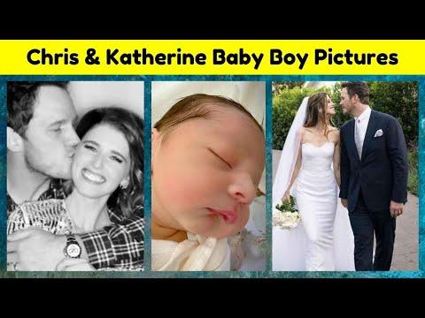 Chris Pratt and Katherine Schwarzenegger Baby Boy Pictures | Chris Pratt & Katherine Baby Boy Pics