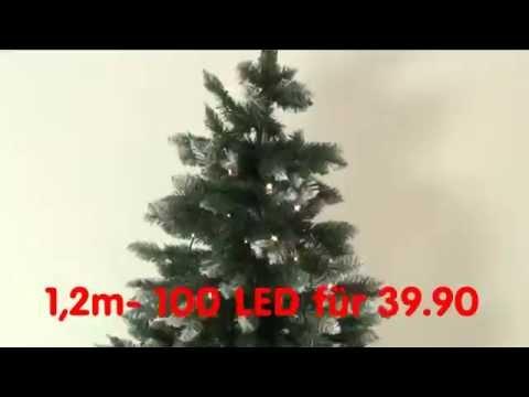 Weihnachtsbaum mit LED Licht