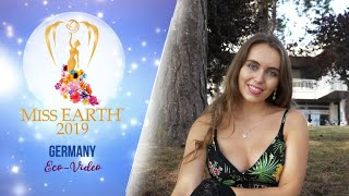Kristyna Losova Miss Earth Germany 2019 Eco Video
