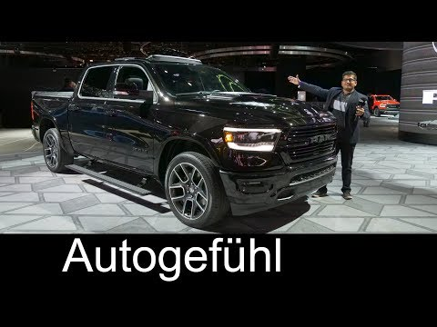 2019 (Dodge) Ram 1500 REVIEW all-new - NAIAS 2018 - Autogefühl