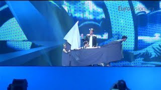 Can Bonomo - Love Me Back - 3D - Eurovision Song Contest - Turkey 2012 - Semi-final 2