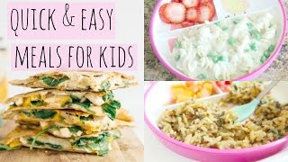 Quick And Easy Lunch Ideas For Kids!