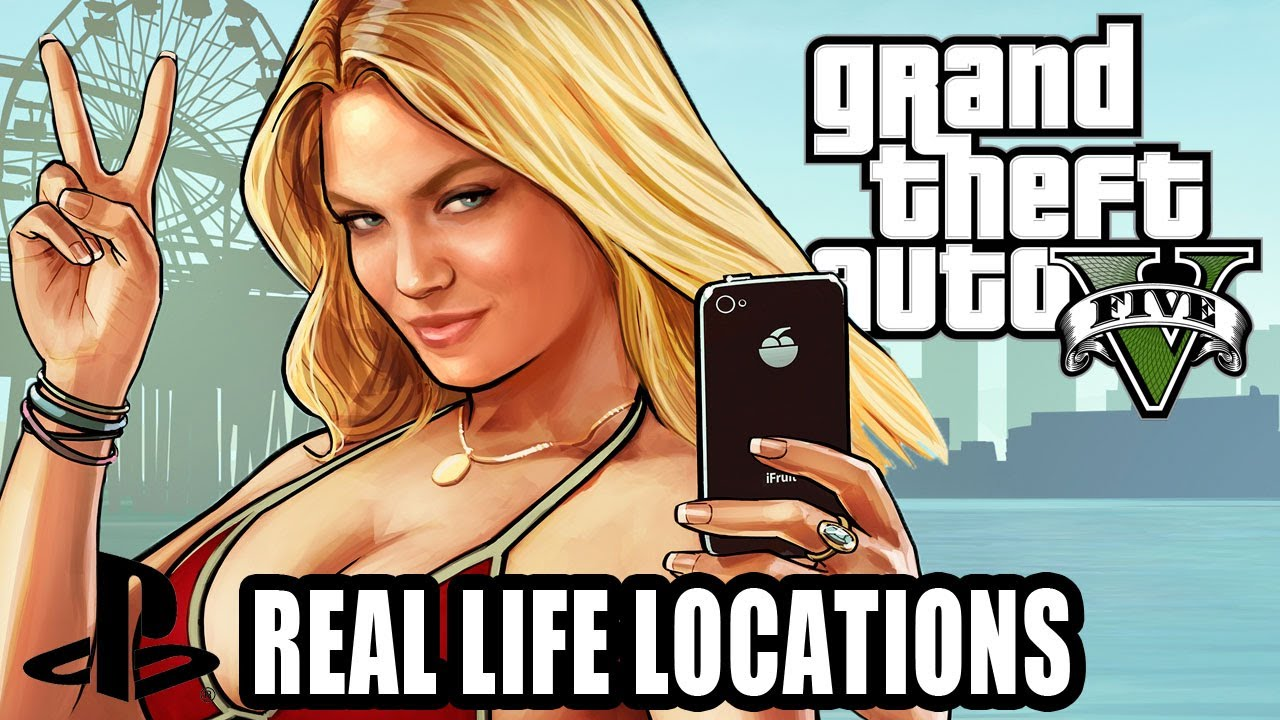 The Real-Life Inspirations Behind Grand Theft Auto V Screenshots