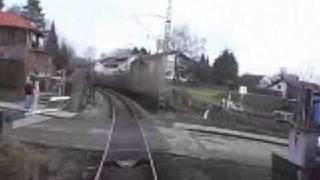 preview picture of video 'Führerstandsmitfahrt S-Bahn München (Baierbrunn - Buchenhain)'
