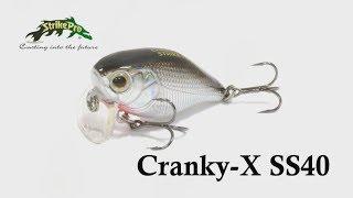 Воблер strike pro cranky 40f