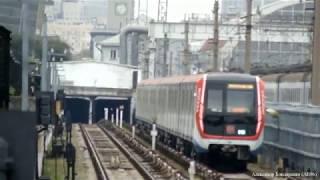 """Поезд """"Москва"""" на станции """"Студенческая"""""""