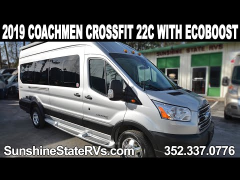 2019 Coachmen Crossfit 22C EcoBoost Class B RV ft  PROAIR