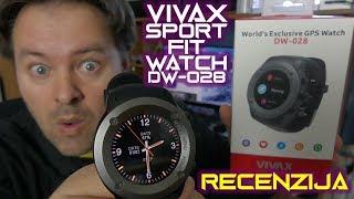 Vivax Sport Fit Watch DW-028 recenzija - elitni GPS pametni sat povoljne cijene (02.01.2019)