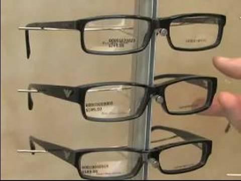 How to Choose Men's Eyeglasses : Armani: Popular Men's Eyeglasses