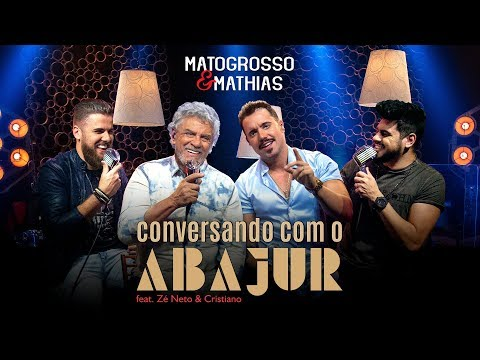 Dupla Matogrosso & Mathias com  Zé Neto & Cristiano na gravação de seu EP