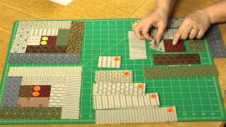 Quilting Quickly: Sunshine & Shadows  - Log Cabin Layouts