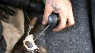 Как определить бензин в баке при неисправности поплавка