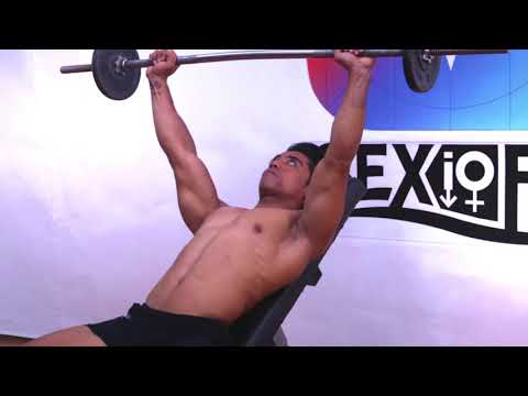 Barbell Incline Shoulder Raise, Tutorial, Exercise Video, Workout, SEXioFIT