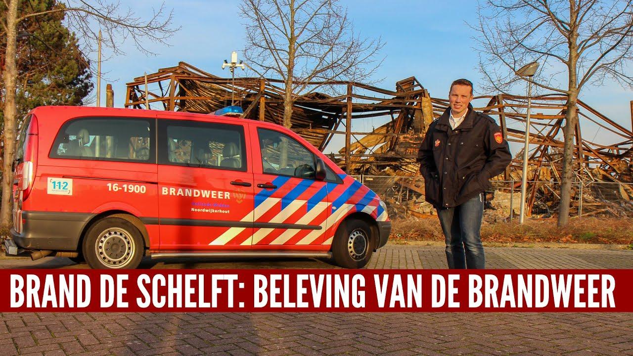 Brand De Schelft: beleving van de brandweer