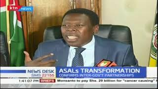 CS Devolution Eugene Wamalwa lays out ASAL Development Plan.