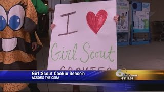 It's Girl Scout Cookies Season!