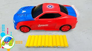 Recharge Transforming Toy Cars - Kid Studio