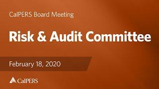 Risk & Audit Committee on February 18, 2020