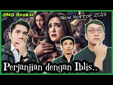 😳Film Horor baru 2019🤪 - Reaksi nonton Trailer Perjanjian dengan ... 2e6f610725