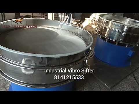 Single Deck Vibro Sifter