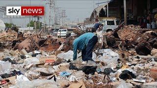 Scrabbling for scraps in Venezuela