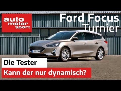 Ford Focus Turnier 1.5 Ecoboost: Kann der nur dynamisch? - Test/Review   auto motor und sport