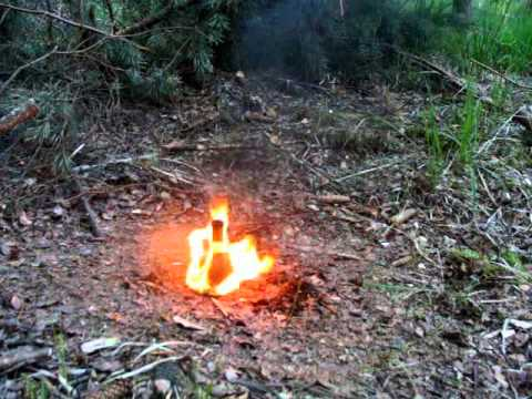 Řezání hrdla lahve pomocí ohně