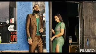 NIPSEY HUSSLE &Lauren London 1st lady missing you
