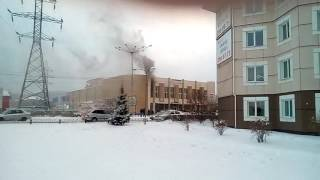 Горит ДК Свердловский