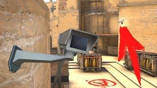 Зачем на Мираже стоят скрытые камеры? | CS:GO Секреты