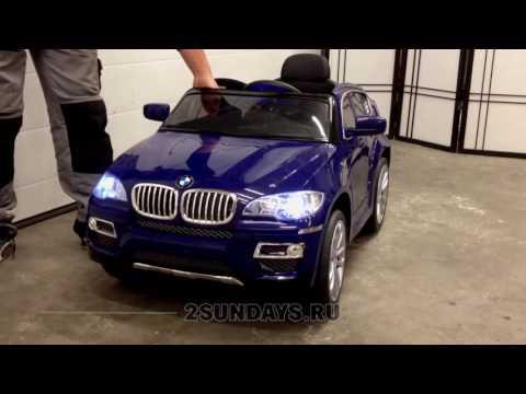 Детский электромобиль BMW Х6 лицензия
